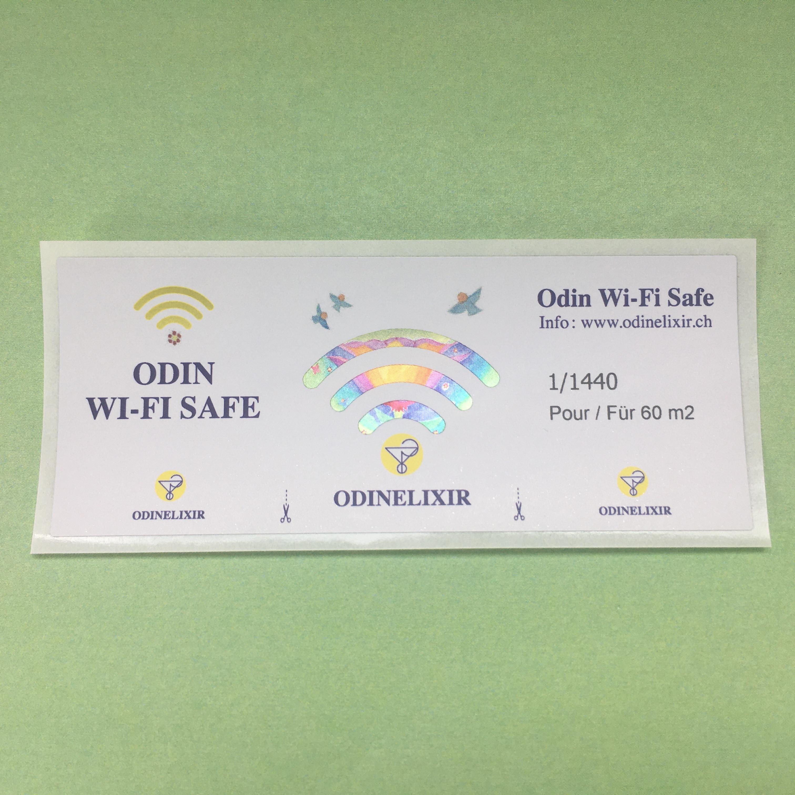 Etiquettes WIFI Safe